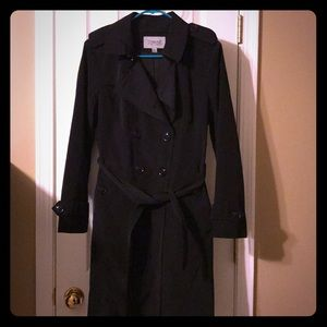 Black trench coat by London fog